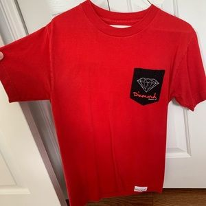 Diamond Men's Red T-shirt